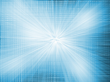 light zoom: Abstract radial blur zoom light blue background