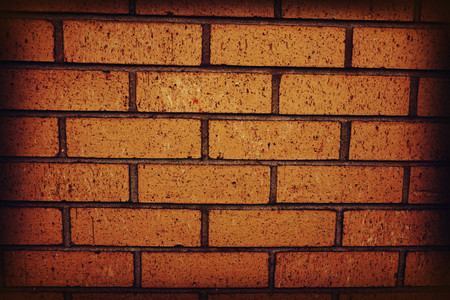 textured wall: Old red brick wall as a background, pattern or texture Stock Photo