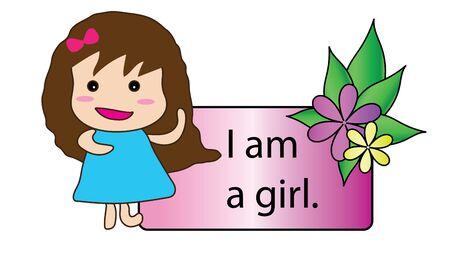 i am: I am a girl