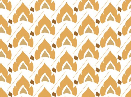 illustrators: thai style seamless pattern Illustration