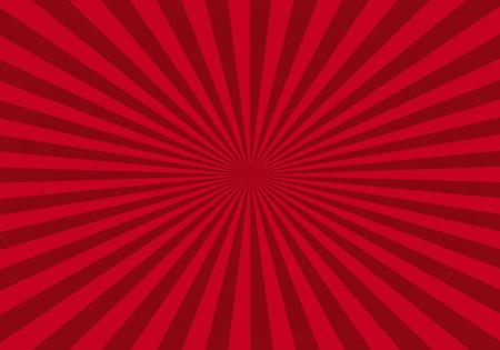 red abstract starburst background Foto de archivo