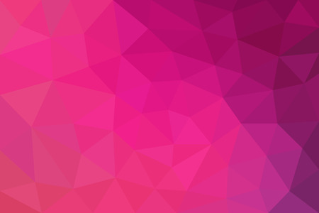 pink texture: pink and purple abstract background of triangles low poly