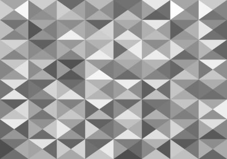 grey: white and grey abstract background of triangles low poly
