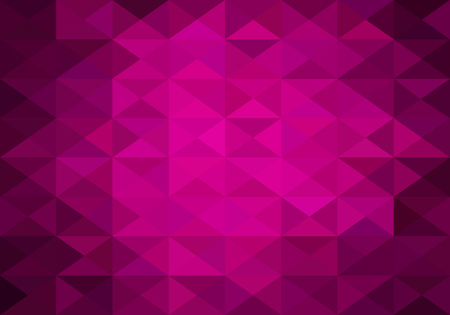 background pattern: hot pink abstract background of triangles low poly Stock Photo