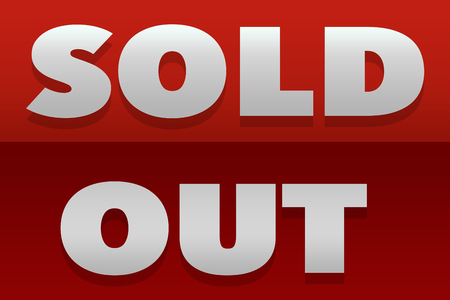 out: SOLD OUT sign