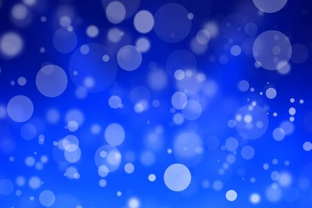 background pattern: blue bokeh abstract background