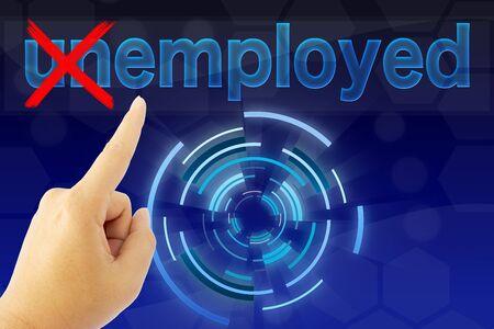 employed: Turning the word Unemployed into Employed