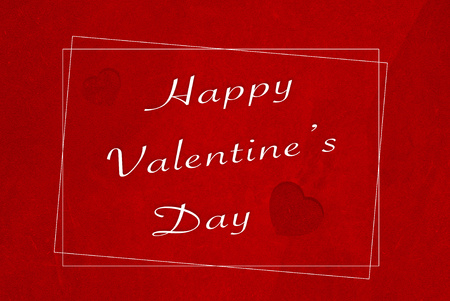 old grunge red paper background for valentines day