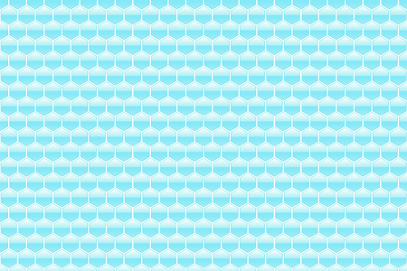 abstract blue honeycomb pattern background