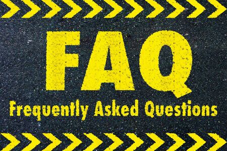frequently: FAQ - frequently asked questions word on road