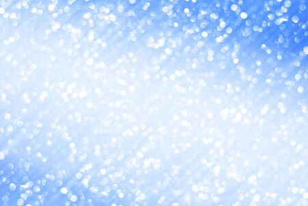 white blue bokeh abstract background