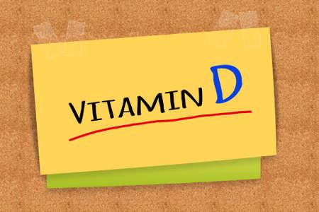 d: Vitamin D Stock Photo