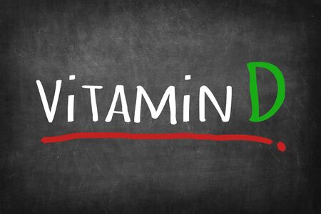 vitamin d: Vitamin D Stock Photo