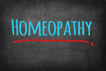 homeopatía: Homeopatía Foto de archivo