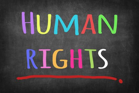 the rights: Human rights concept