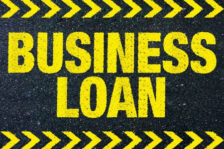 borrowing: Business Loan Stock Photo