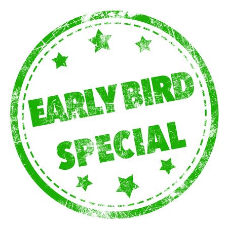 Early Bird Special stempel