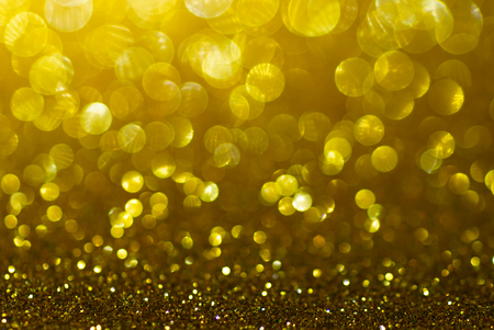 black textured background: black and gold glitter bokeh texture abstract background