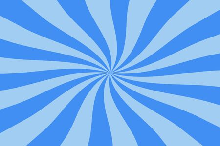 blue spiral: abstract blue spiral, swirl, twirl starburst background Stock Photo