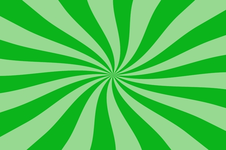 green swirl: abstract green spiral, swirl, twirl starburst background