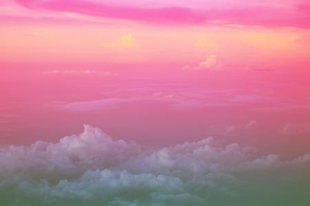 pink green cloud background, pastel gradient colors