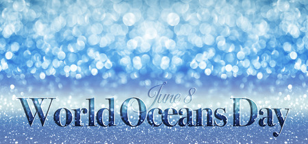 the oceans: World Oceans Day Stock Photo