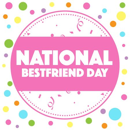 the best: National Best Friends Day Stock Photo