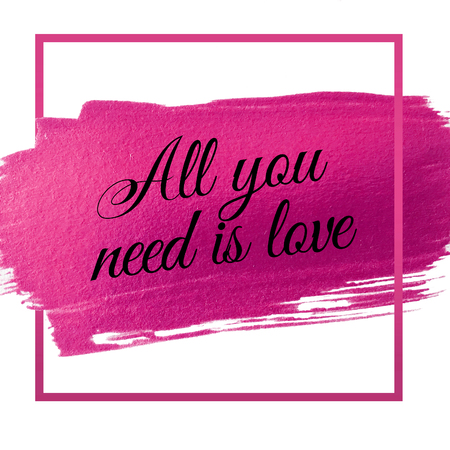 romantic: All you need is love