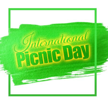 International picnic day Stock Photo - 57868273