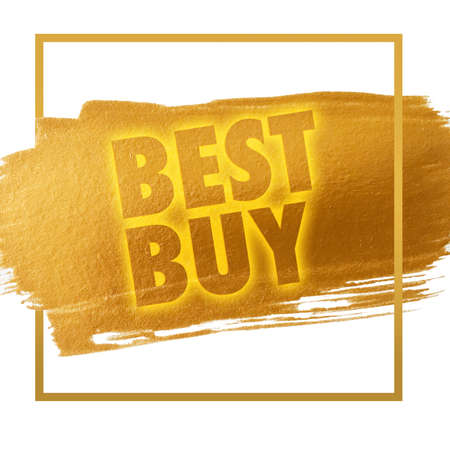choise: Best Buy Stock Photo