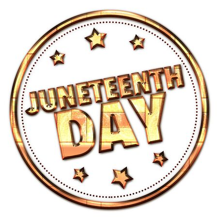 day: juneteenth day Stock Photo