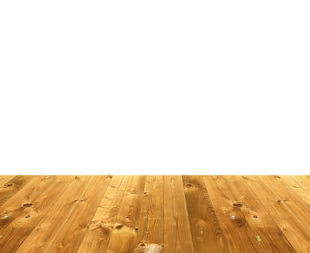 old wood floor: Wooden style floor stage for display of product or background Stock Photo