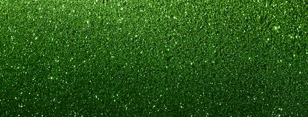 green glitter texture abstract banner background