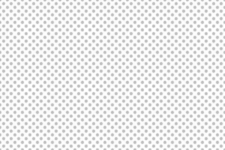 repetition row: Small grey white polka dot background Stock Photo