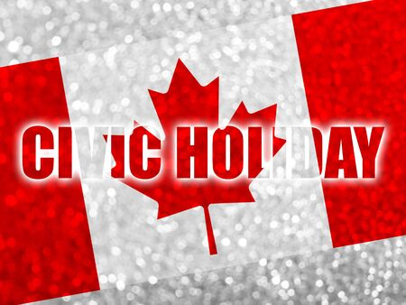 long weekend: Civic Holiday, long weekend in Canada Stock Photo