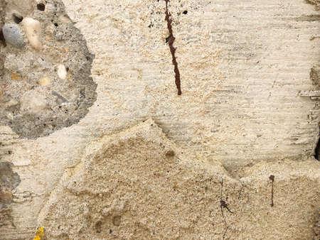 rupture: Cracked concrete texture background Stock Photo