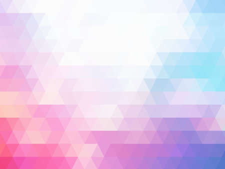 pastel tone: Abstract colorful pastel tone mosaic background Stock Photo