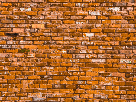 paredes de ladrillos: vieja textura de fondo pared de ladrillo marrón de la vendimia