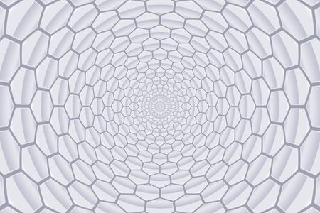 twirl abstract grey honeycomb pattern background