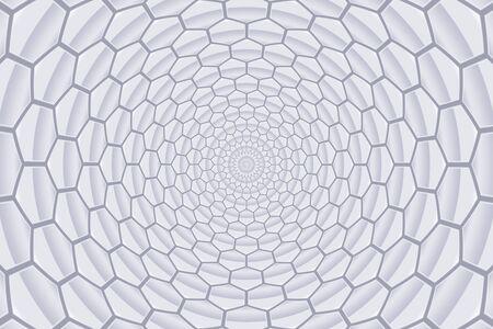 grey pattern: twirl abstract grey honeycomb pattern background
