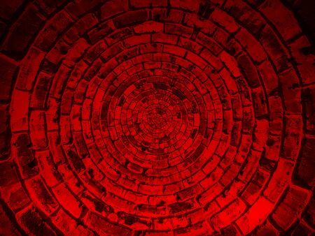 Abstract old red grunge shield texture background Banco de Imagens