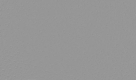 grey emboss rain drops shape background