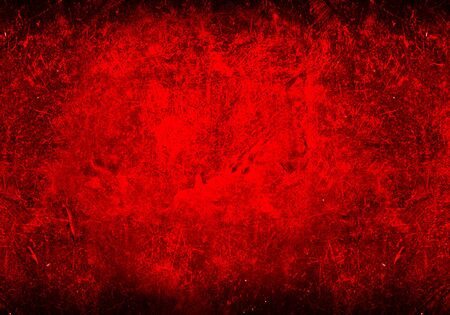 old grunge red and black wall background texture