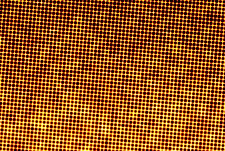 Abstract yellow orange texture halftone background