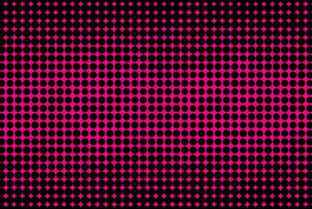 black textured background: Abstract pink and black textured halftone background