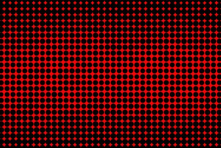 black textured background: Abstract red and black textured halftone background
