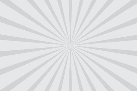 grey radial starburst background vector illustration