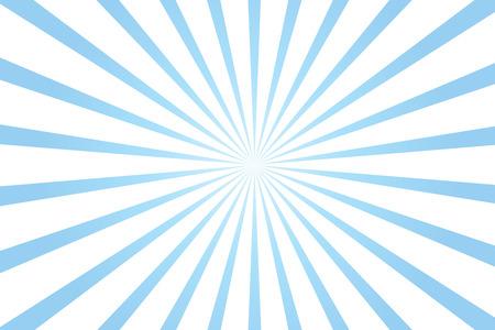 blue and white radial starburst background illustration