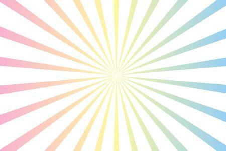 pastel and white radial starburst background illustration