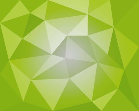 green white geometric vector illustration, polygonal background